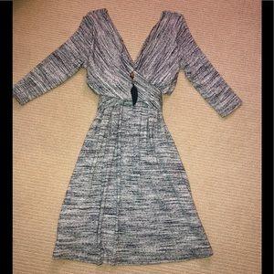 Anthropologie Amadi 3/4 sleeve Lola Dress